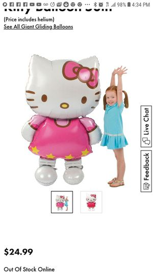 Hello kitty balloon for Sale in Baltimore, MD