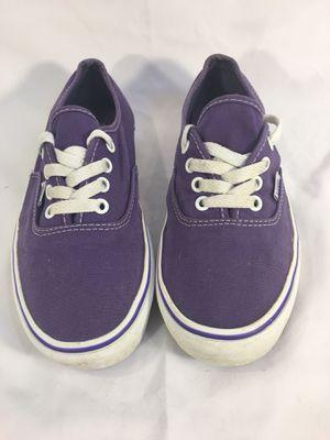 Vans Purple White Skateboarding Skate Tennis Shoes T381 Men's 6 Women's 7.5 for Sale in Cincinnati, OH