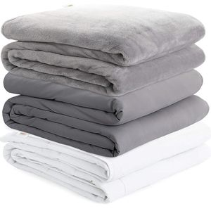 New Zoning Weighted Blanket Cover 2 Duvet Covers for Hot & Cold Sleeper Advance Nano-Ceramic Beads for Sale in Spring, TX