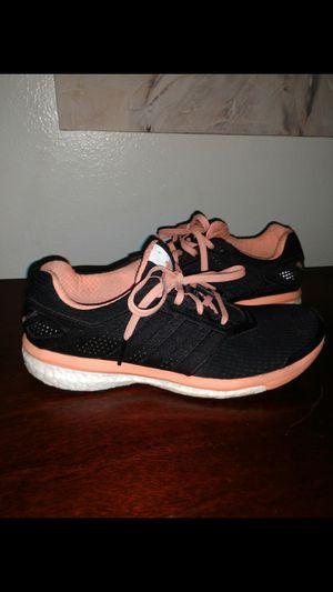 Adidas SuperNova Glide Boost Running Shoes Sneakers Black Womens for Sale in Salt Lake City, UT