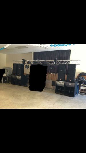 Audio equipment for dj for Sale in Pittsburgh, PA