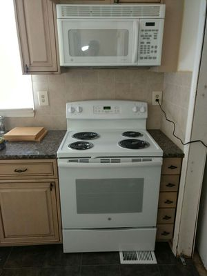 White GE Range, Microwave, Dishwasher for Sale in Philadelphia, PA