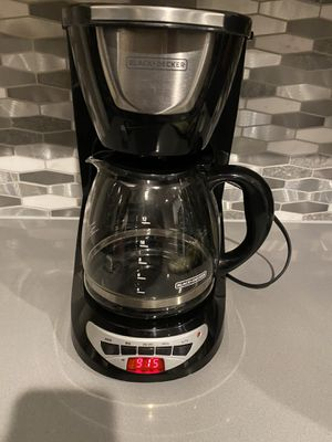 black + decker coffee maker for Sale in Baytown, TX