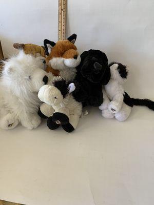 Webkinz stuffed animals, 6 to 8 inch for Sale in Allen, TX