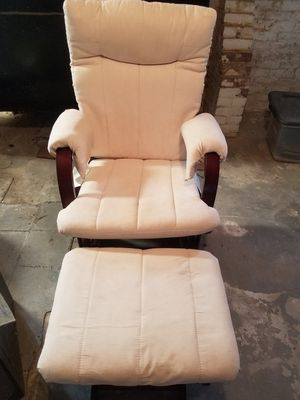 Rocking Chair and Ottoman for Sale in Agawam, MA