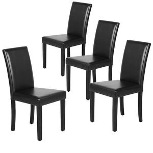 4pxs Leatherette dining chairs only for Sale in La Puente, CA