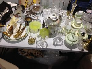 Antiques and crystal for Sale in Lancaster, TX