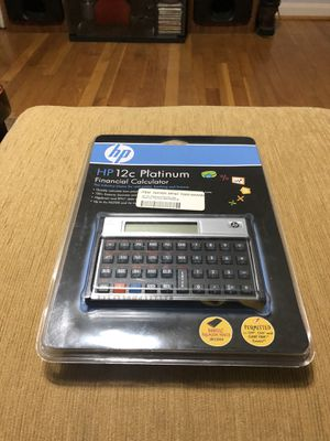 Hp financial calculator for Sale in Silver Spring, MD