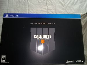 PS4 black ops collectors edition for Sale in Traverse City, MI