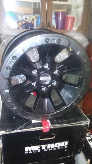 $800.00. Or best offer. 17inch FORD RAPTOR/ F150 RIMS for Sale in Long Beach, CA