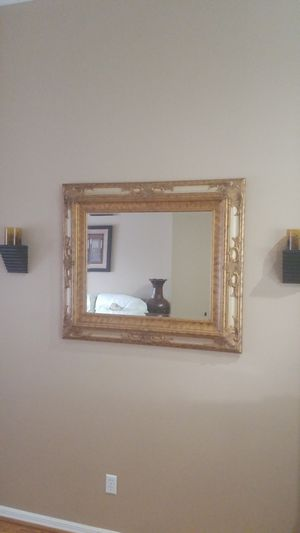 Mirror with sconces for Sale in Windermere, FL