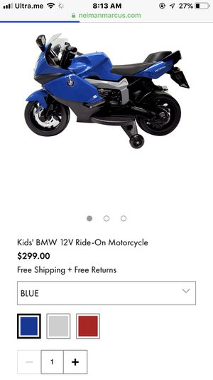 BMW kids motorcycle brand new in box for Sale in Spring, TX