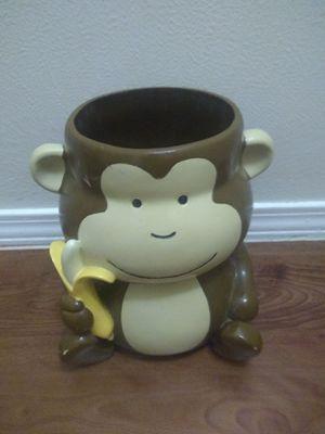Monkey jar or Trash can for Sale in Austin, TX