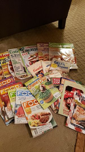Assorted Cooking Magazines Bundle for Sale in Canton, OH