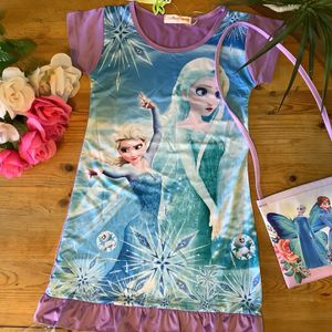 Elsa Dress And Purse for Sale in Huntington Beach, CA