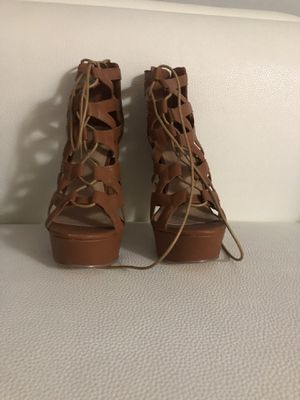 Light brown high heels for Sale in Miami Springs, FL