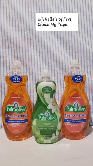 Palmolive Dish soap Antibacterial/ Green Apple set for Sale in Fort Washington, MD