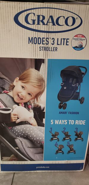 Graco Modes 3 Lite Stroller, Amari Fashion for Sale in Fort Pierce, FL