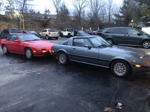 1984 mazda rx7 5 letra pintura original 65,000 millas y 1990 mazda rx7 convertible pintura original 68,000 millas ambos $20,000 for Sale in Westborough, MA