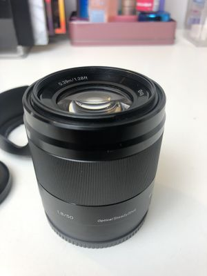 Sony 50mm F1.8 for Sony E-mount for Sale in Chicago, IL