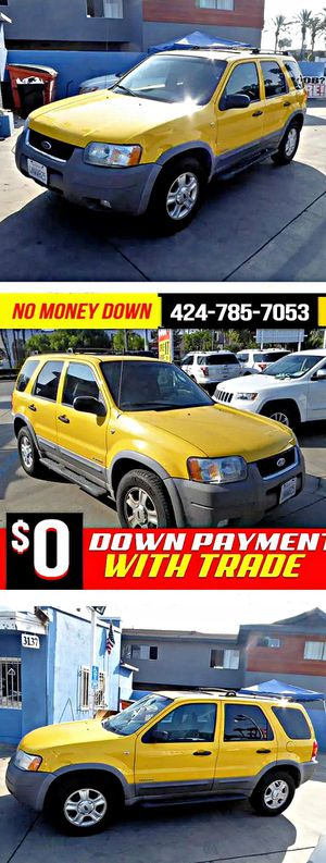 2001 Ford EscapeXLT 4WD for Sale in South Gate, CA