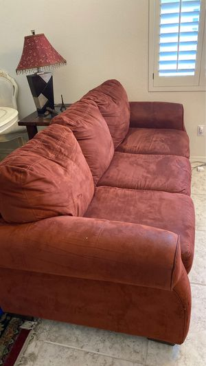 Sofa set and 2 lamps for Sale in Chandler, AZ