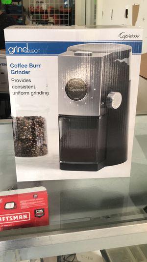 Coffee Burr Grinder for Sale in Lithia Springs, GA