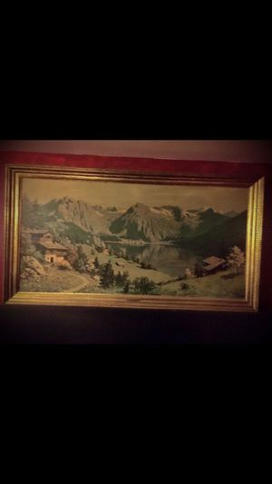 Village Mountain Painting for Sale in Norridge, IL