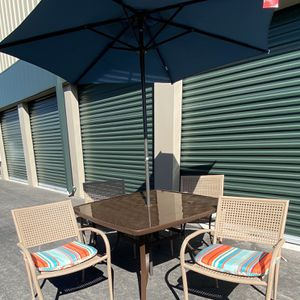 6 piece outdoor patio set furniture, brand new seat cushions 🔥🔥🔥 FREE DELIVERY WITHIN 5 MILES 👍 for Sale in Las Vegas, NV
