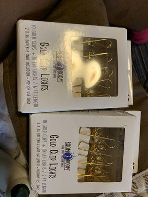 Gold clip lights for Sale in Atlanta, GA