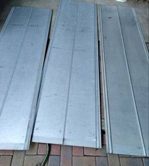 8 Galvanized Sheets $150 for all for Sale in Euless, TX