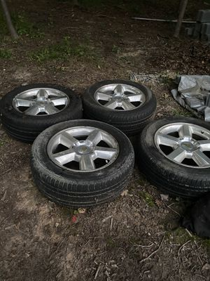 20 inch Tahoe LTZ wheels. $450 obo for Sale in Glenn Dale, MD
