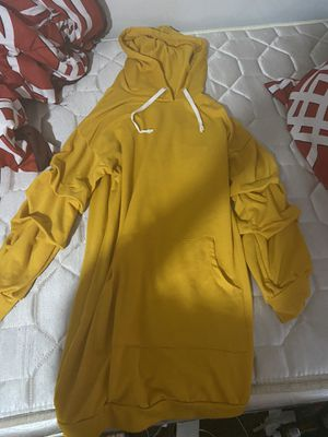 Mustard Yellow Hoodie Dress for Sale in Clayton, NC