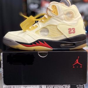DS:Off White AJ5 Sail for Sale in San Francisco, CA