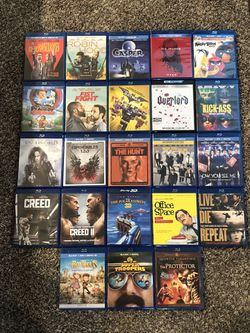 Blu Ray Movies And Codes for Sale in Moxee,  WA