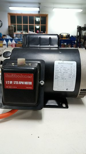 Smith and Jones 1/2 hp 1725rpm 120/240 motor for Sale in Renton, WA