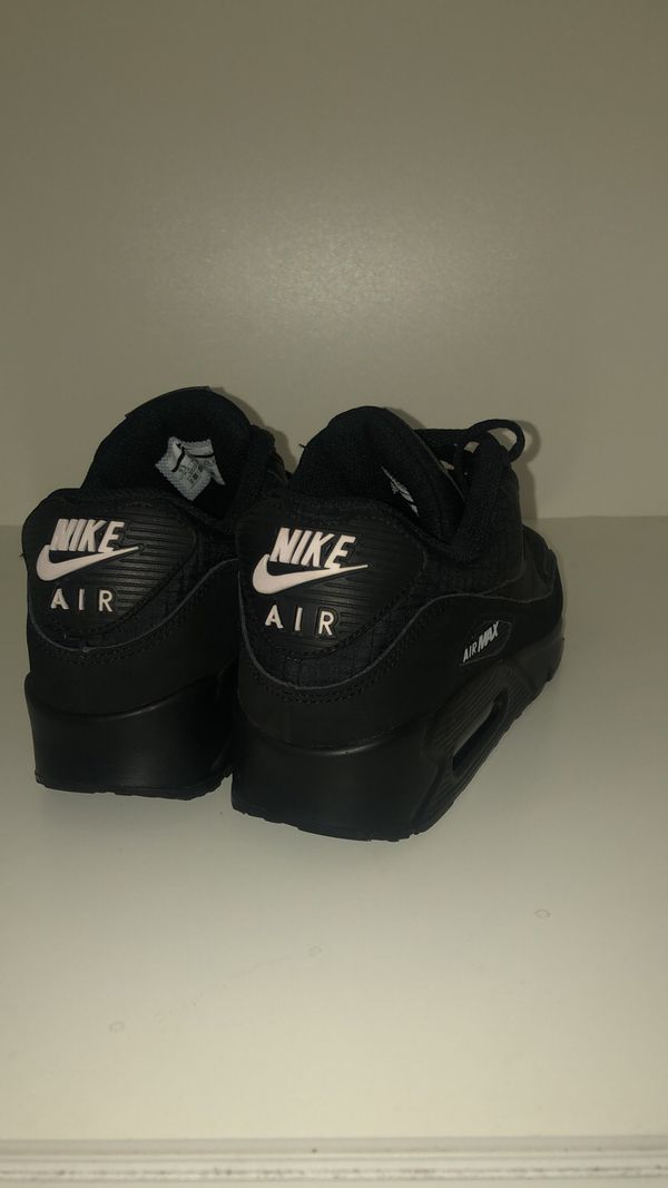 Nike Air Max 90 shoes Black/Black Size 7.5