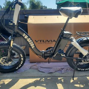 BRAND NEW 🚀 VTUVIA Electric Bike ( 750W Motor/Color Jumbo Display)🚀 Biggest Motor🚀 Fat Tire 4.0/20in Wheel/Folding/Foldable for Sale in Walnut, CA