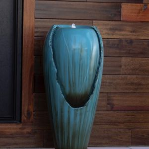 Teal Jar Fountain for Sale in Commerce, CA