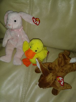 Beanie Babies TY Originals Hoppity Quakers Ears 1990 Rare Retired for Sale in Coronado, CA