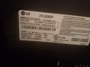 LG TV 37 for Sale in Manassas, VA
