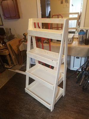 Ladder shelf (Build to order) for Sale in Denton, TX