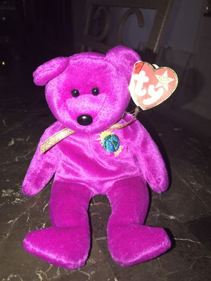 Millennium ty beanie baby mint condition $100 obo for Sale in Deerfield Beach, FL