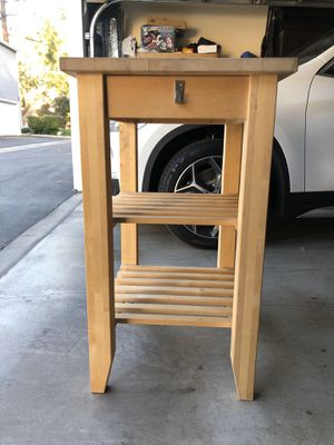 Rolling Kitchen Island/Cart with shelves. for Sale in Irwindale, CA