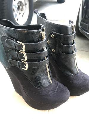Brand New Black BeBe Wedge Heels for Sale in Vallejo, CA