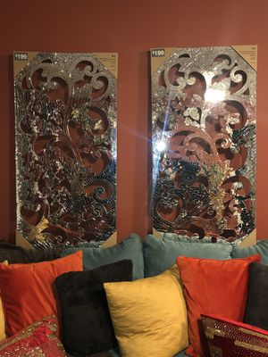 Pier 1 mirrored mosaic wall art for Sale in Baltimore, MD