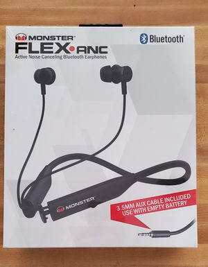 *Brand New* Monster Audio Flex Noise Canceling Bluetooth Earphones for Sale in Camdenton, MO