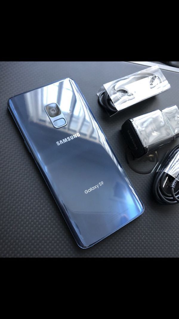 Samsung galaxy s9 - factory unlocked with accessories + clean IMEI