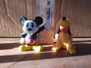 "Disney© ""Mickey n Pluto"" figurines for Sale in Artesia, CA"