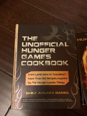 Collection of hunger game books for Sale in Waltham, MA